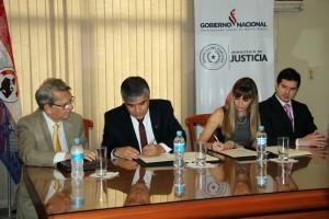 FIUNA y Ministerio de Justicia firmaron acuerdo de cooperación