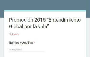 Promoción 2015